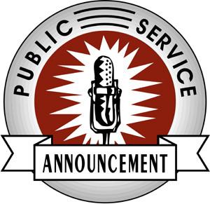 Public Services Announcement