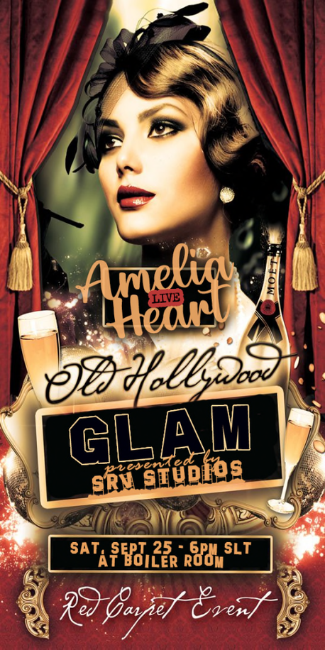 OLD HOLLYWOOD GLAM EVENT!