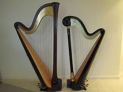 Pedal harps in Melbourne Victoria