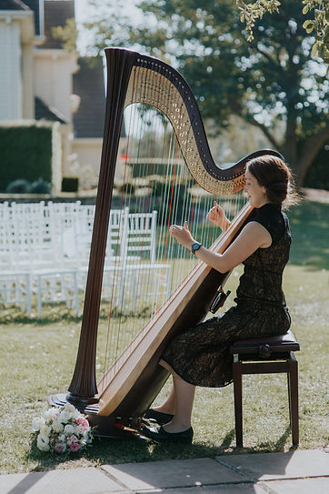 Wedding Harpist, harp music, violin and harp music, Harp music Geelong and Melbourne
