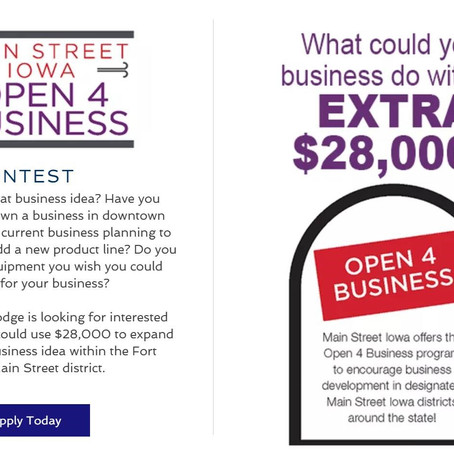 Open 4 Business Contest now open