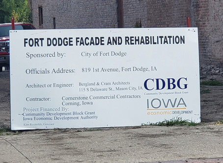 Main Street Fort Dodge Facade and Rehabilitation project