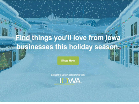 Business Community Support Livestream - Shop Iowa