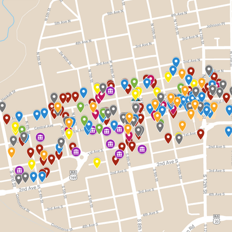 Interactive Map of Main Street Fort Dodge