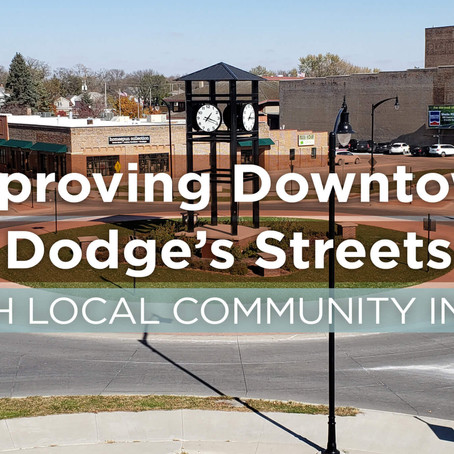 Improving Downtown Fort Dodge's Streetscape with Local Community Input