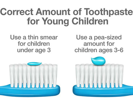 When can I start using fluoride toothpaste for my child?
