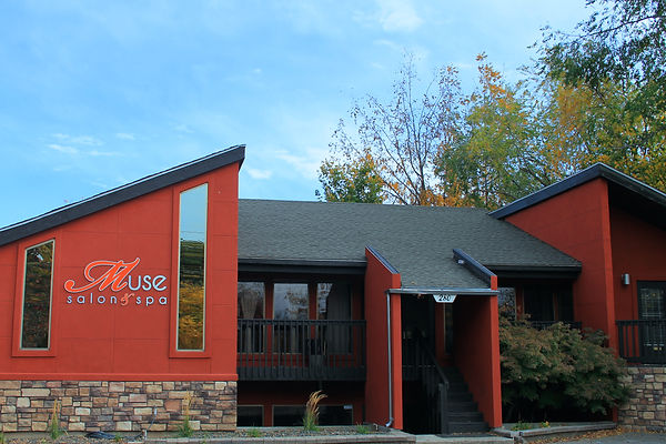 Front view of Muse Salon and Spa