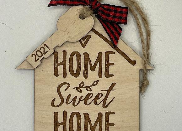 Home Sweet Home Address Ornament