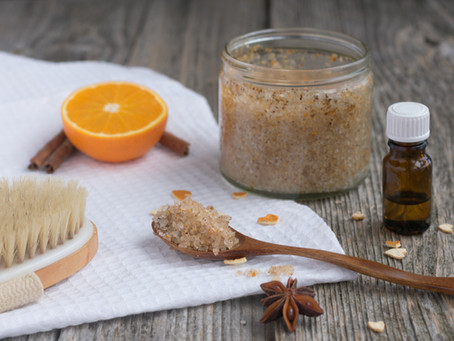 Sugar Scrub: DIY recipe