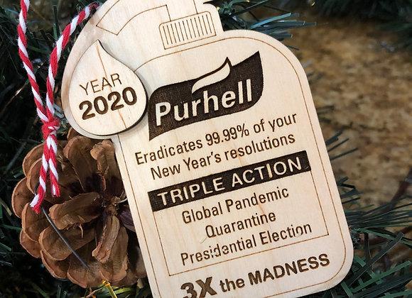 2020 Purhell Ornament