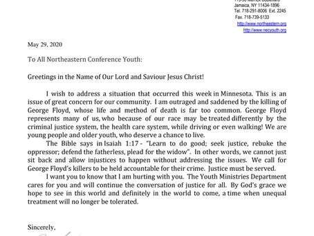 NEC YMD addresses the situation on Minnesota