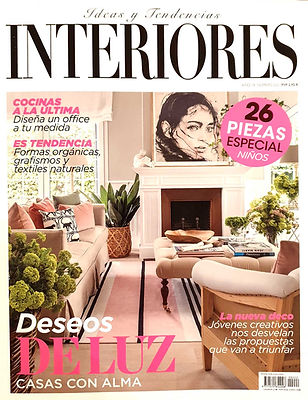 REVISTA INTERIORES. ANGELICA TCHERASSI