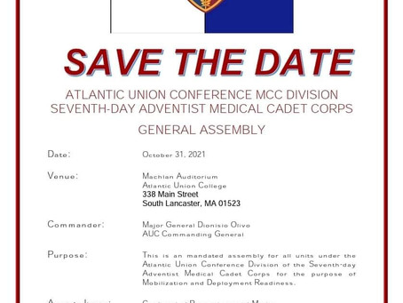 MCC Union Assembly announced