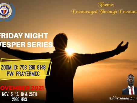 Brigade November Prayer Series