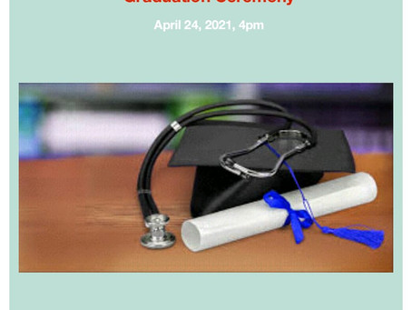 Emergency Medical Responder Graduation Ceremony