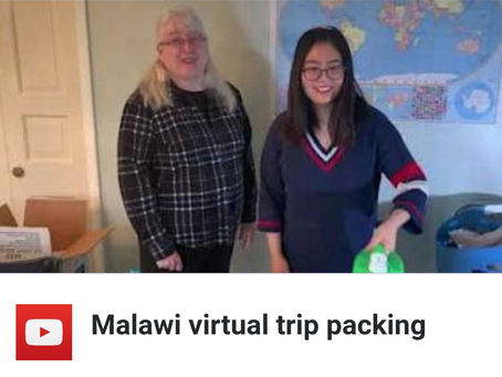 How to pack boxes for the Malawi Mission Trip