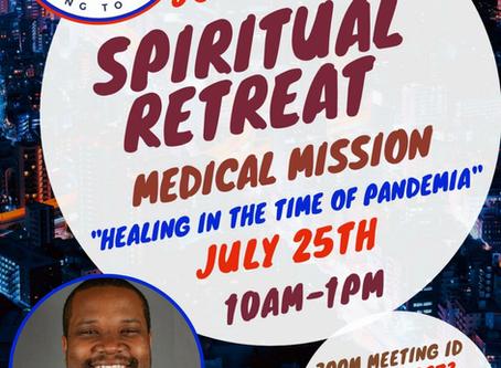 MCC Online Spiritual Retreat Sabbath July 25th!