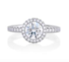 Diamond exgagement ring