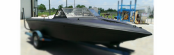 speed boat plasti dipped