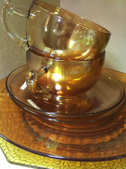 depression glass at the Spare Room