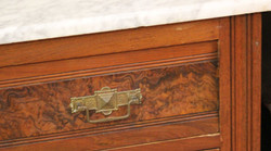 Marble top antique at the Spare Room
