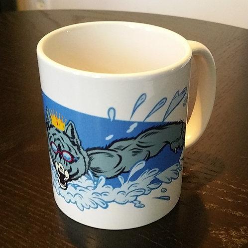 King Wolf Swim mug (race day pick-up only)