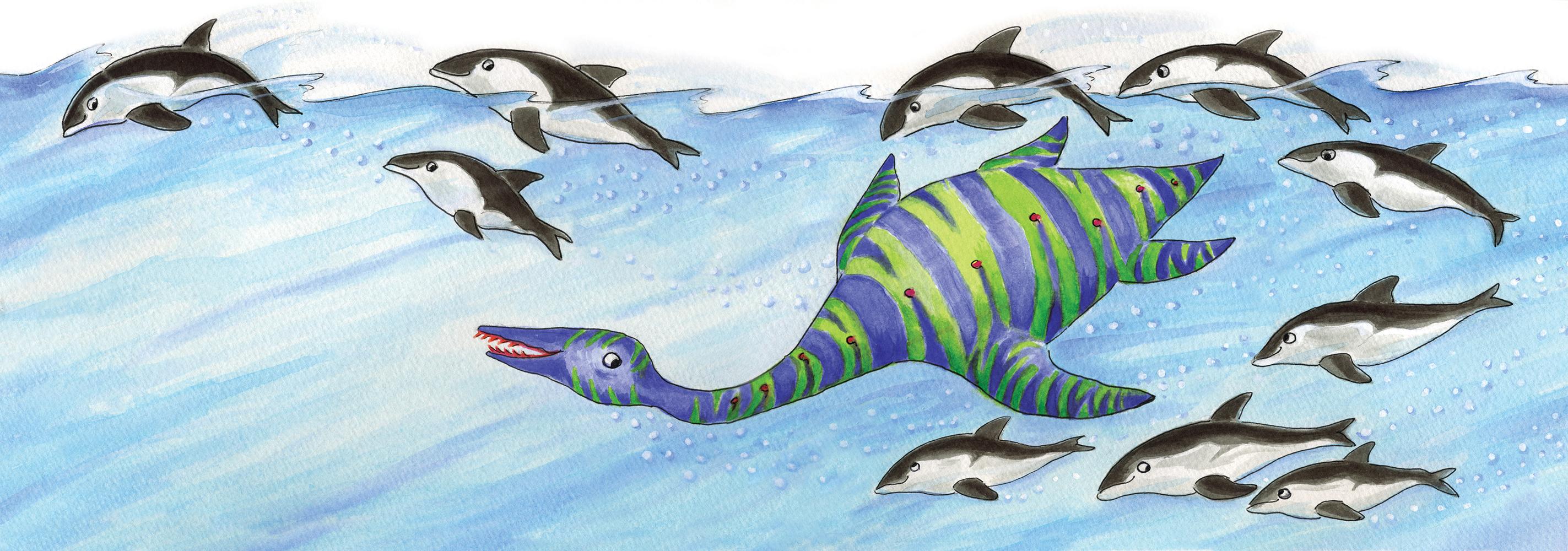 Le Plésiosaure