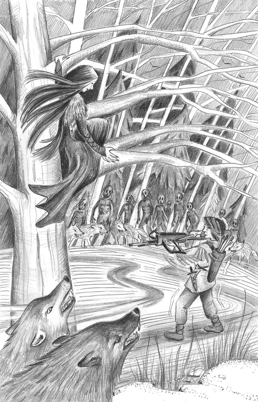 La sorcière des Araynes
