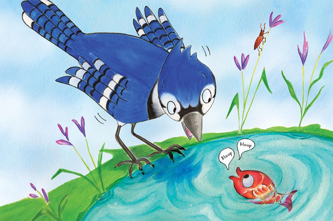 Poah et le poisson