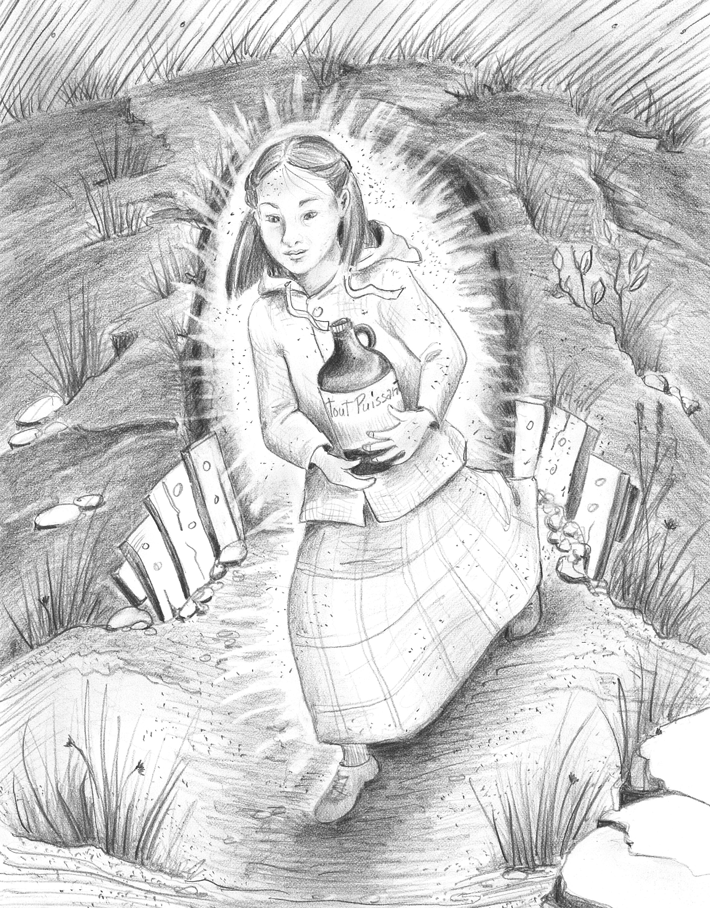 Delphine et la bagosse