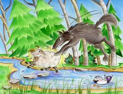 Rosco et le loup