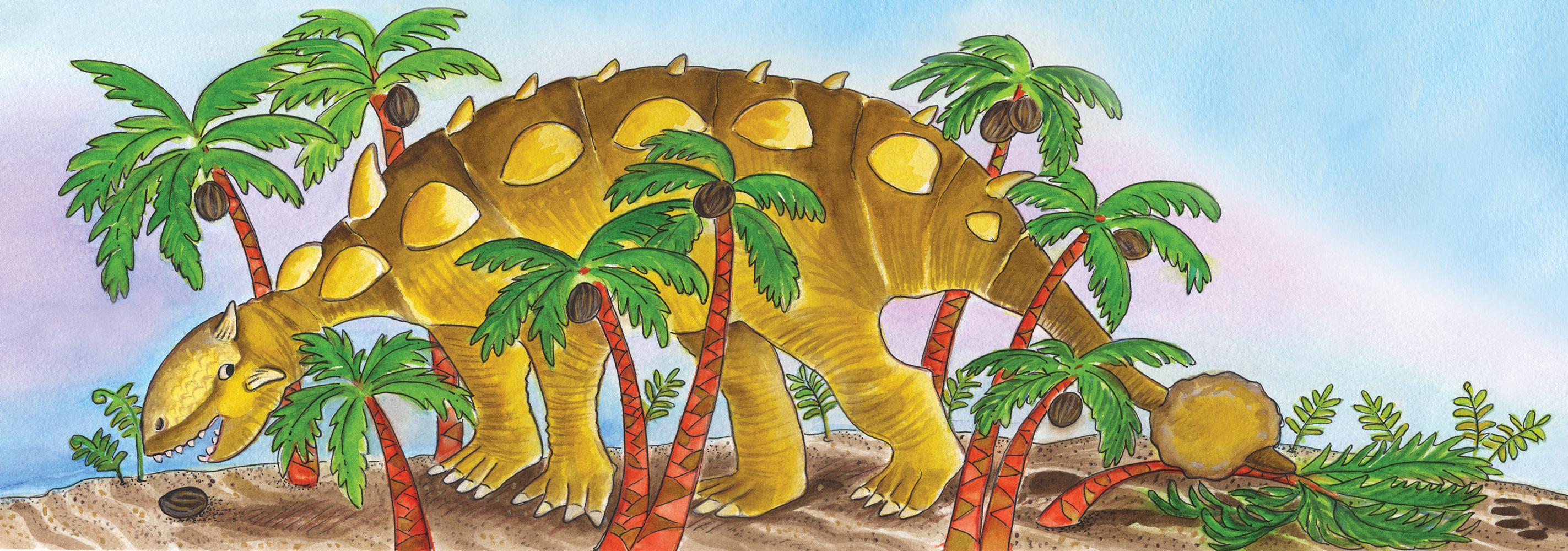 L'Ankylosaure