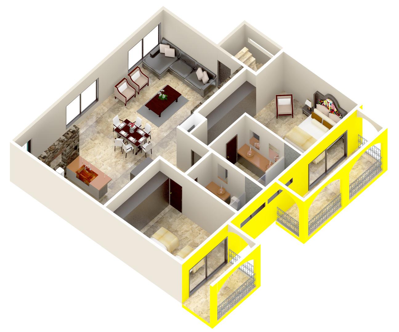 Espacios en tu nuevo departamento