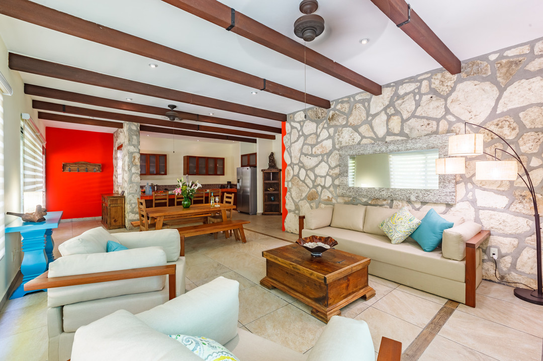 Sala de estar y cocina