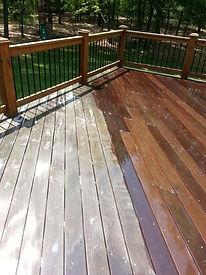 deck cleaing