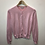 Thumbnail: Cardigan - Pink with silver dots - Age 12