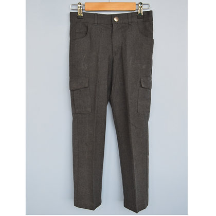Trousers - Uniform - Grey combats with adjustable waist