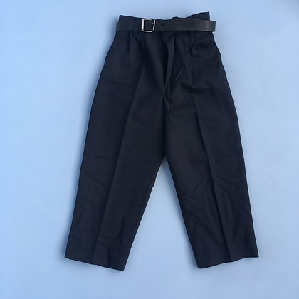Trousers - Uniform - Navy, elasticated waist