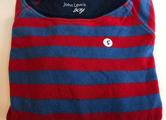 Pyjamas - Stripy - Age 7