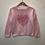 Thumbnail: Jumper - Pink heart - Age 5