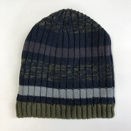 Hat - Stripy Knit