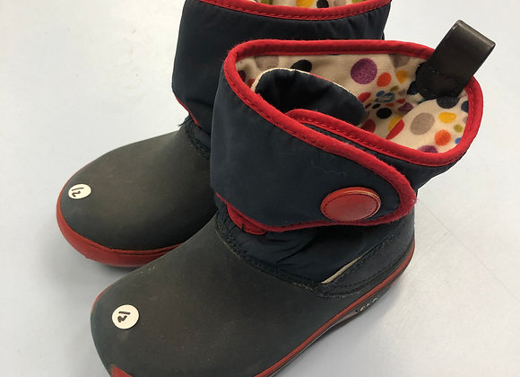 Walking boot - Spotty - Shoe size - 12 (jr)