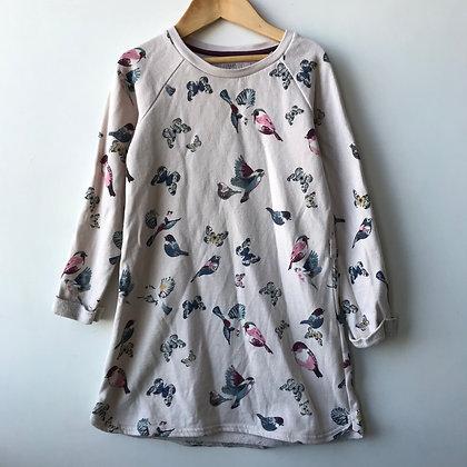 Dress - Birs & Butterflies - Age 5