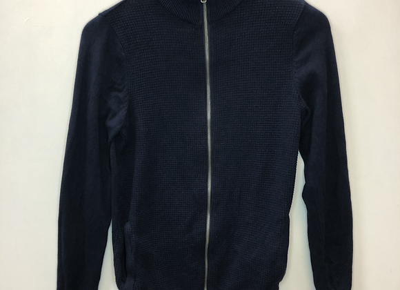 Track top - Knitted, navy - Age 16