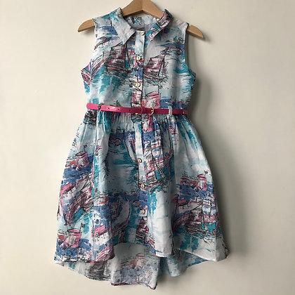 Dress - Sailing Theme - Age 6