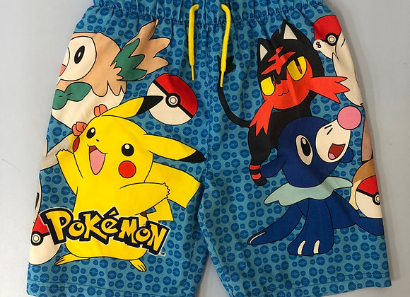 Pokemon Swim Shorts Age 8