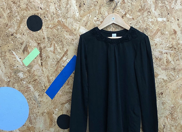 Black Long Sleeve Top - Age 9