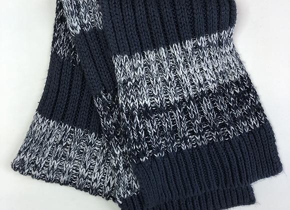 Scarf - Blue Knit