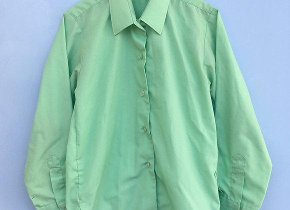 Green Long-Sleeve Shirt