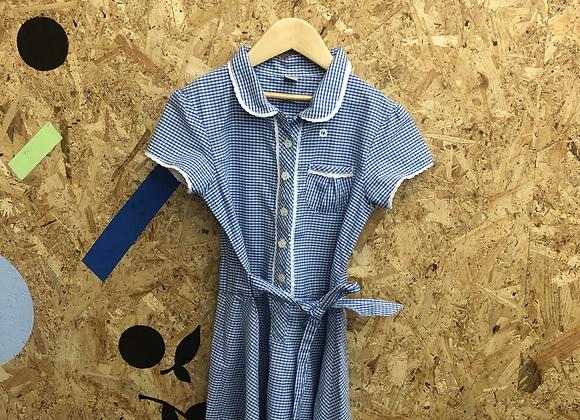 Summer Dress - Blue with buttons